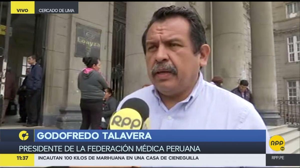 Talavera dijo que se necesita un nuevo hospital para dejar el Arzobispo Loayza.