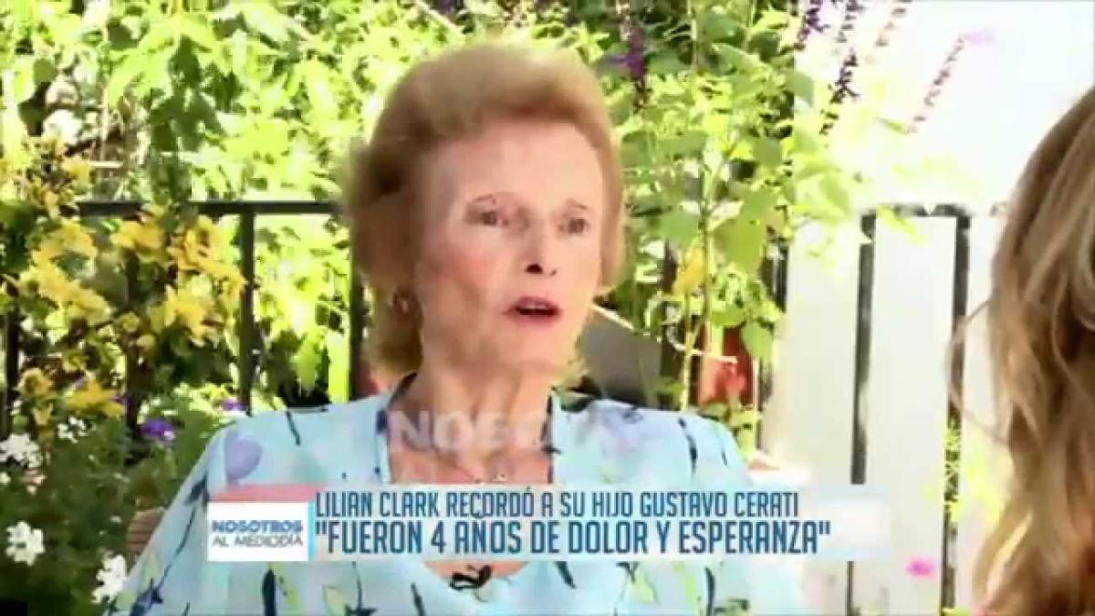 Lilian Clark, madre de Gustavo Cerati, habla después de su muerte