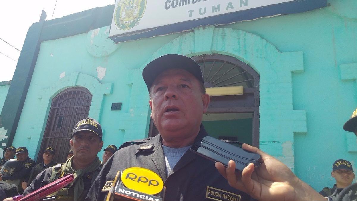 PNP a la espera re orden para reinstalar administración judicial.