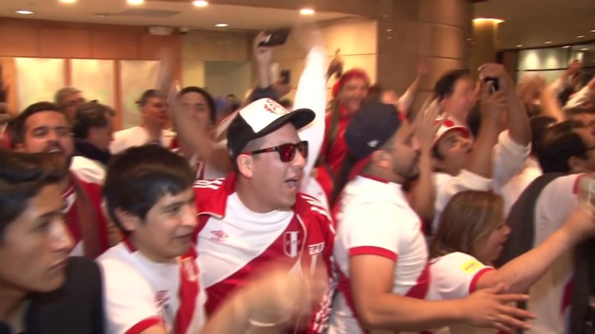Así salió la selección peruana de su concentración en Quito.