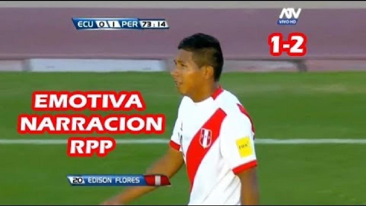 Los goles del Perú - Ecuador