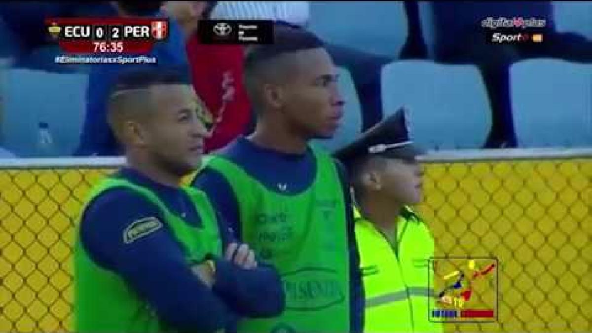 Ecuador 1-2 Perú   Escucha las narraciones en el mundo de los goles de Perú en Quito.