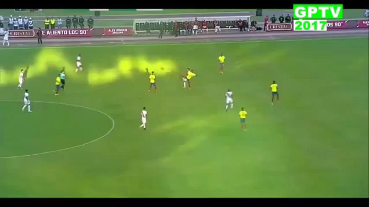 Ecuador 1-2 Perú   Escucha la narración de los portugueses.