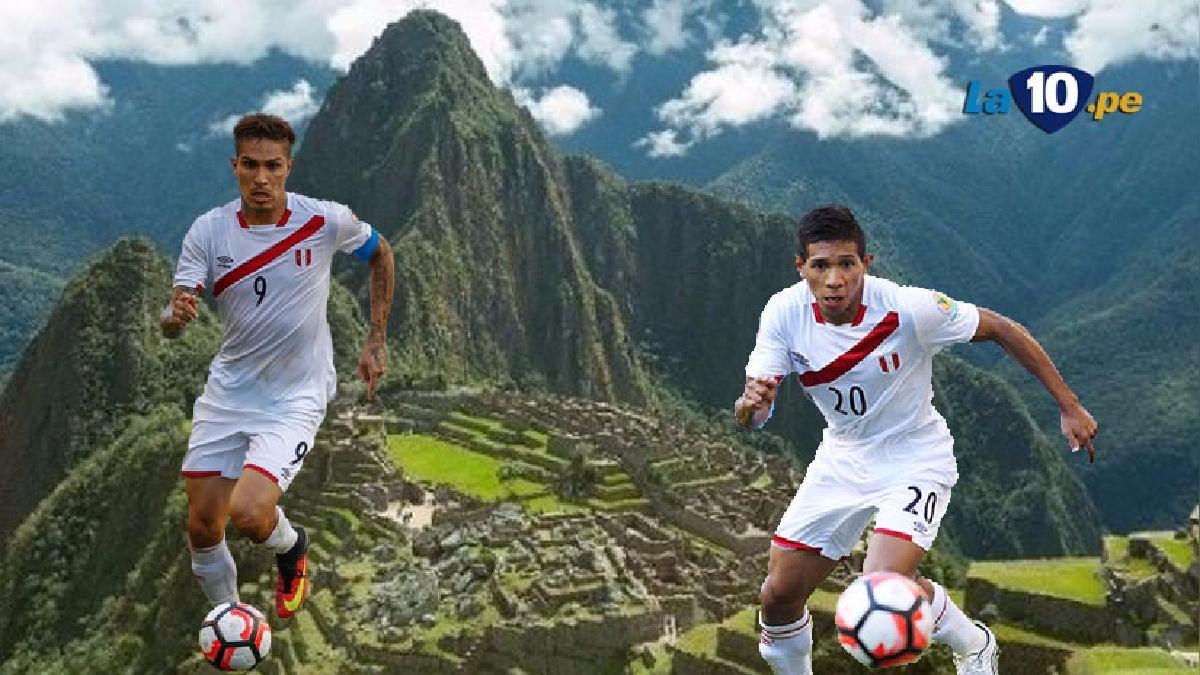 Edison Flores y Paolo Guerrero llevan cinco goles con Perú en las Eliminatorias a Rusia 2018.