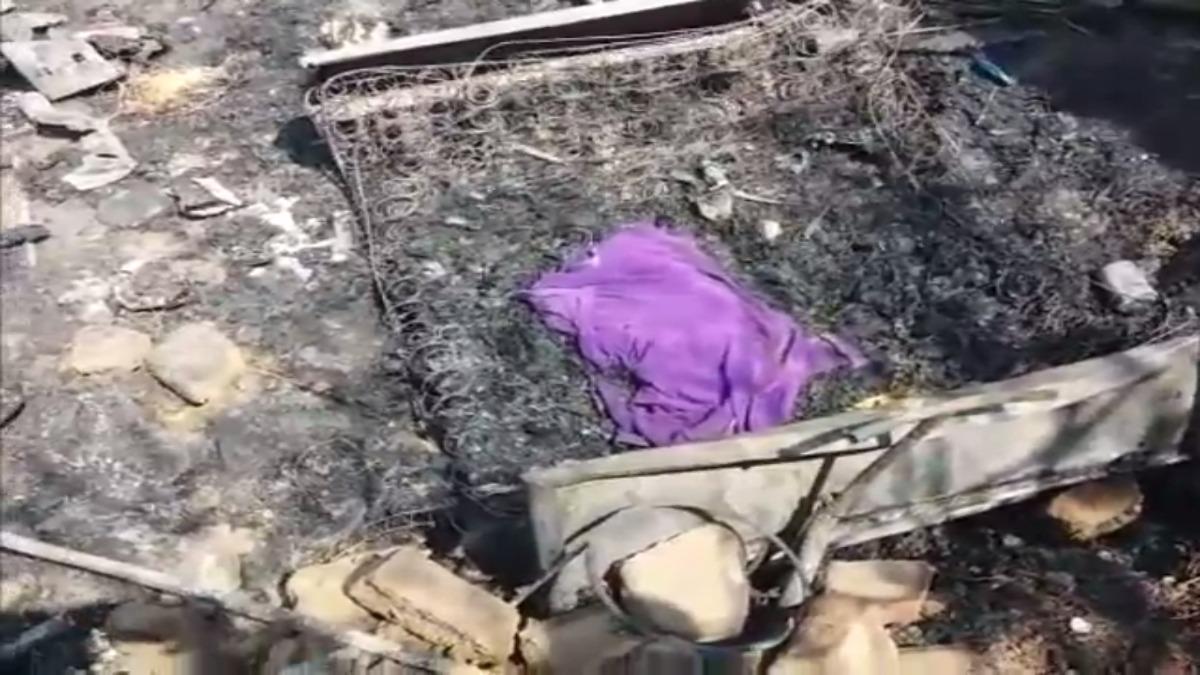 Bebé muere en incendio.