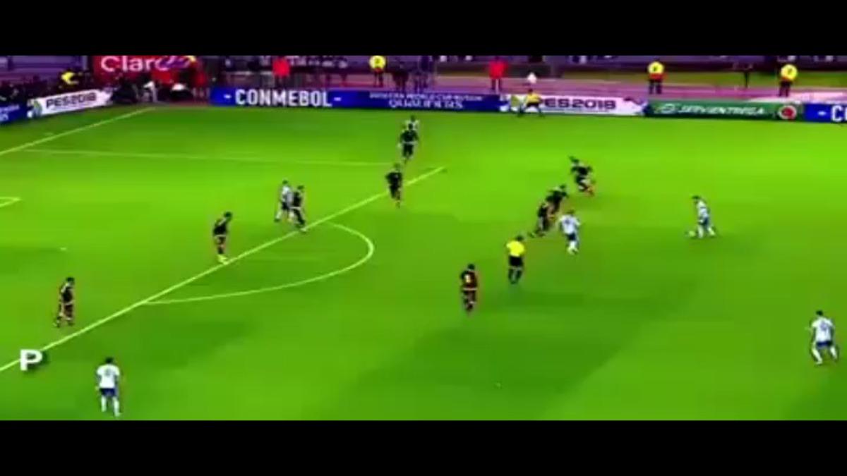 Este video muestra el enorme sacrificio que hace Lionel Messi por la Selección de Argentina.