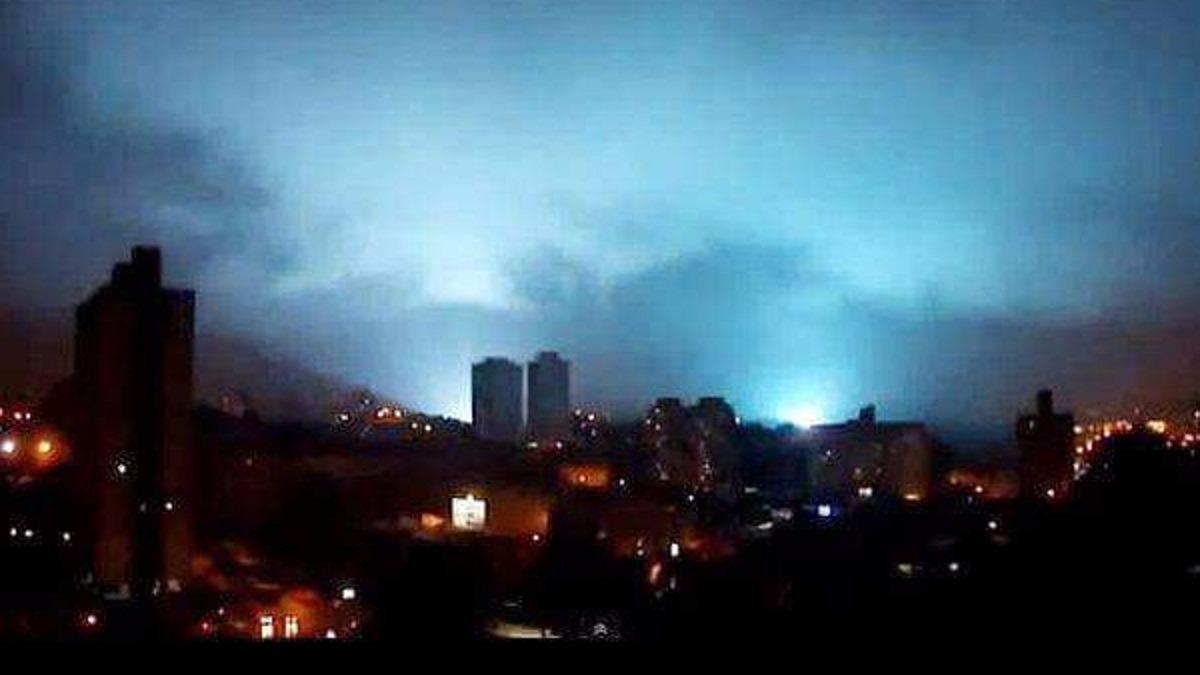 Las luces vinculadas a un terremoto se pueden producir hasta una semana antes de este.
