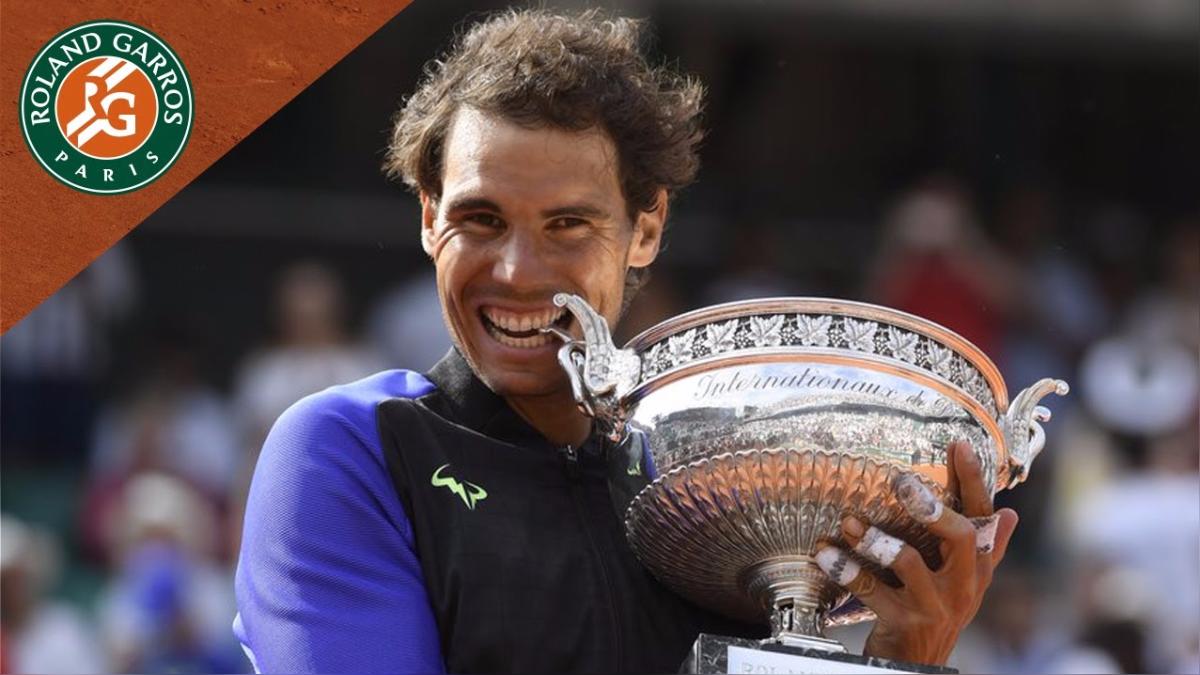 Hablar de Rafael Nadal es hablar de Roland Garros. Aquí sus 10 victorias.