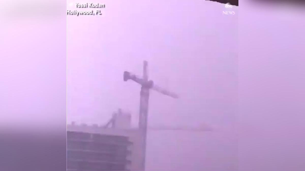 Las autoridades advirtieron que hay unas 25 grandes grúas de construcción en la ciudad.