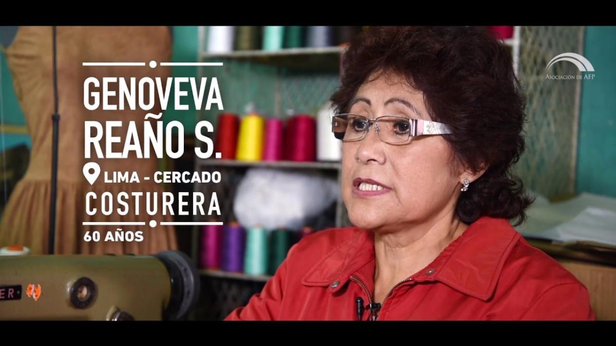 Genoveva afirma que la falta de información fue un limitante en la continuidad de sus aportes.