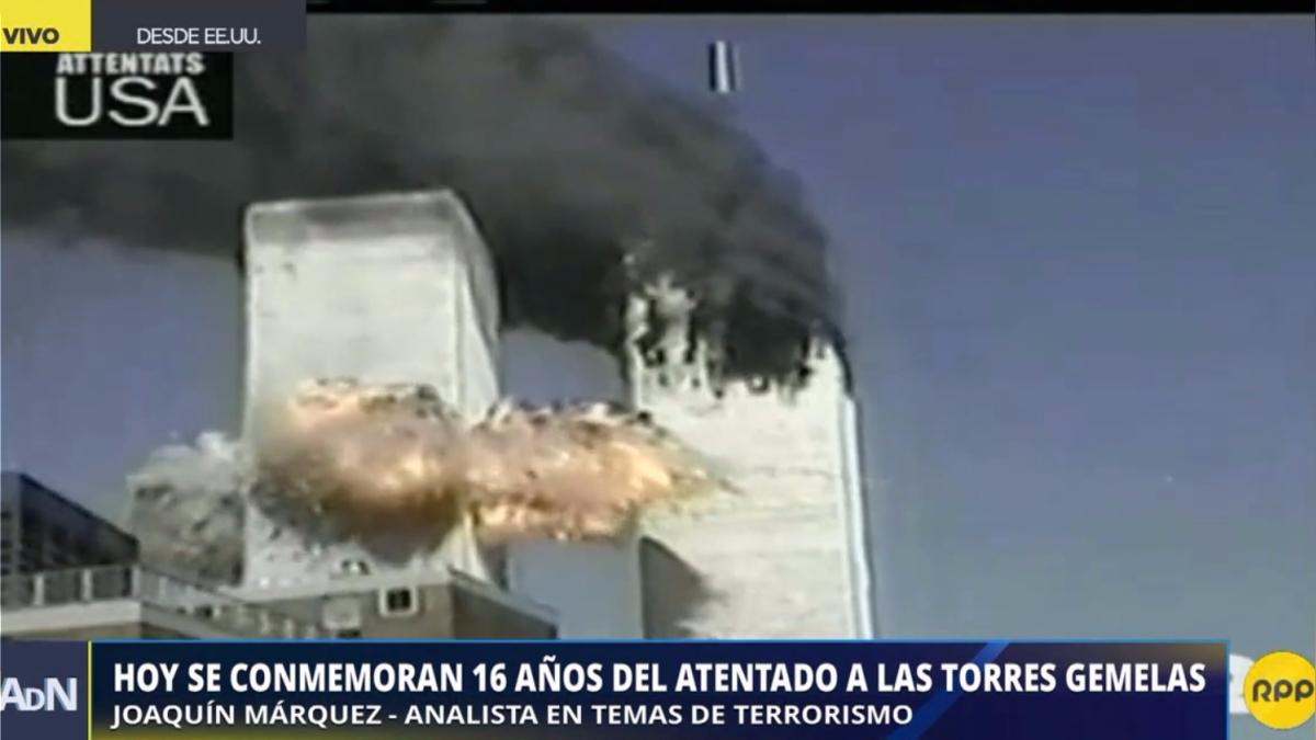 Este lunes se conmemoran 16 años del atentado a las torres gemelas.