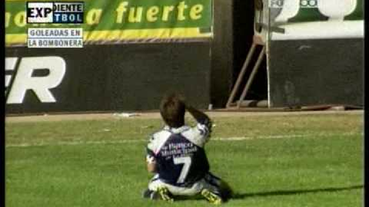 Boca Juniors 0-6 Gimnasia y Esgrima La Plata.