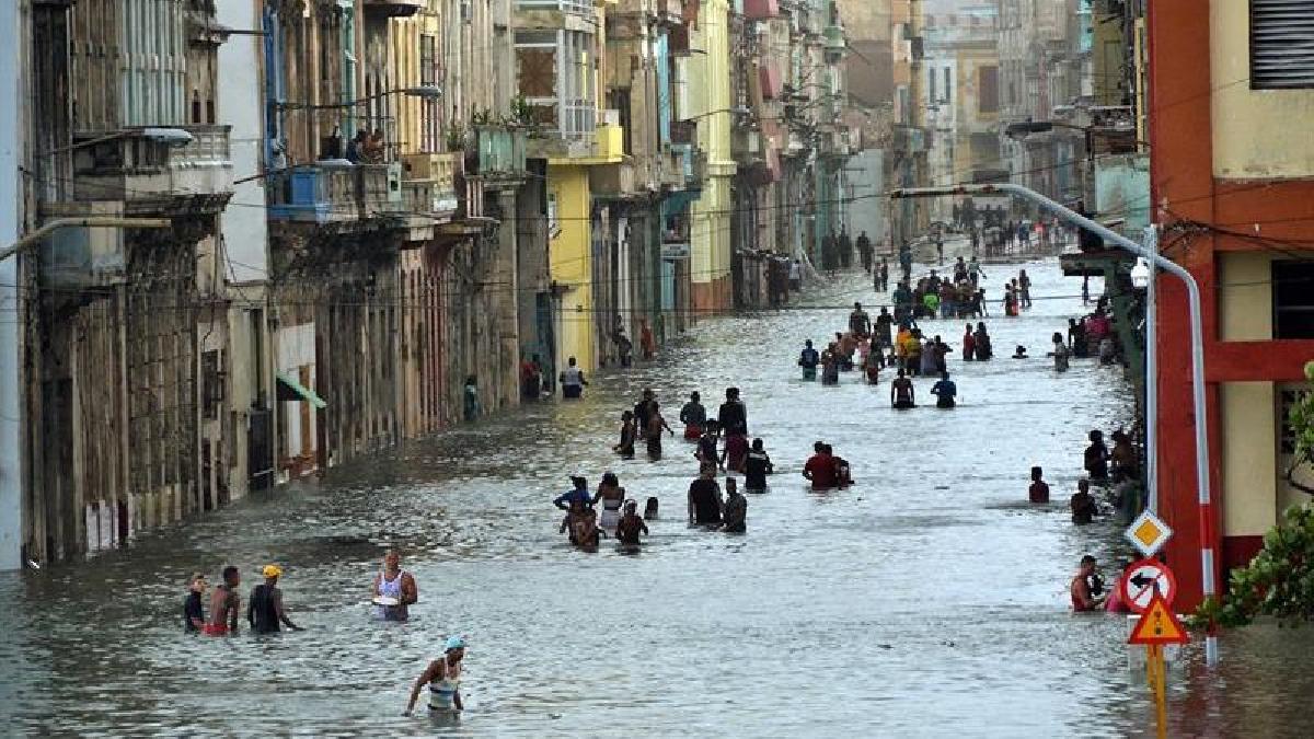Los daños materiales en Cuba son ingentes y todavía no han sido cuantificados.