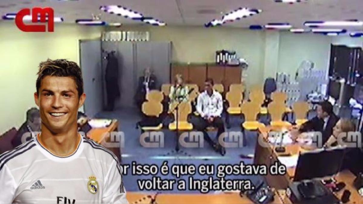 Cristiano Ronaldo llegó al Real Madrid después que pagarán 94 millones de euros.