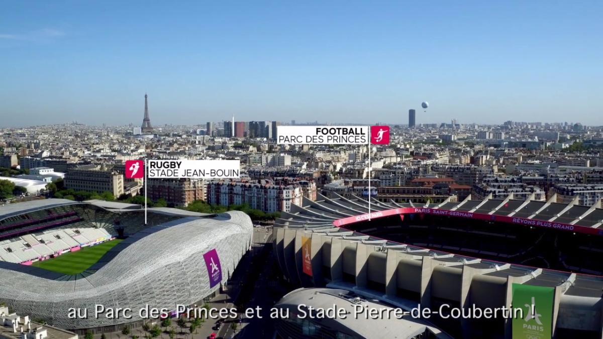 Así se presentó toda la infraestructura de París para los Juegos Olímpicos del 2024.