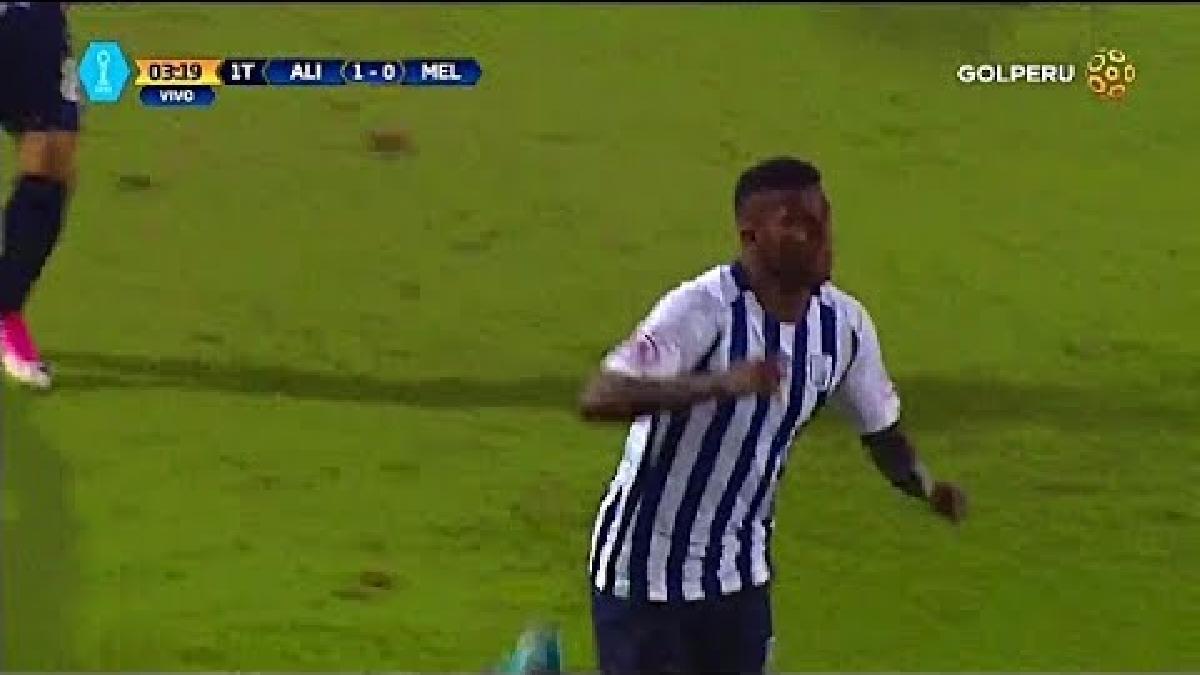 Revive el gol de Carlos Ascues en el Alianza Lima vs. Melgar.