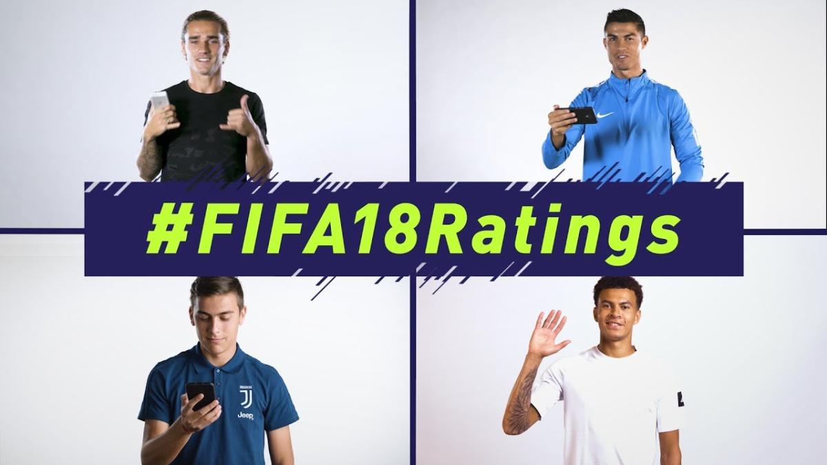 EA Sports lanzó este curioso spot para promocionar el ranking de los mejores jugadores de FIFA 18.