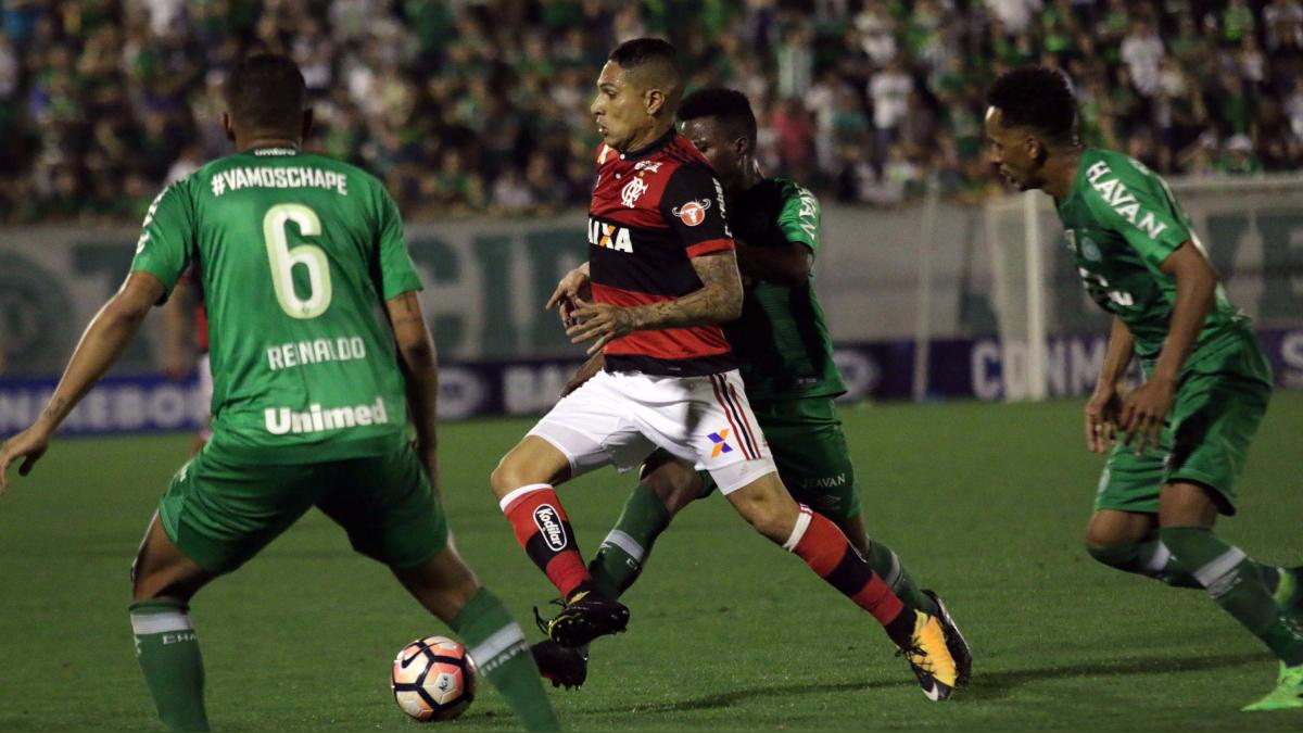 Revive las mejores jugadas de Paolo Guerrero en el Chapecoense vs. Flamengo.