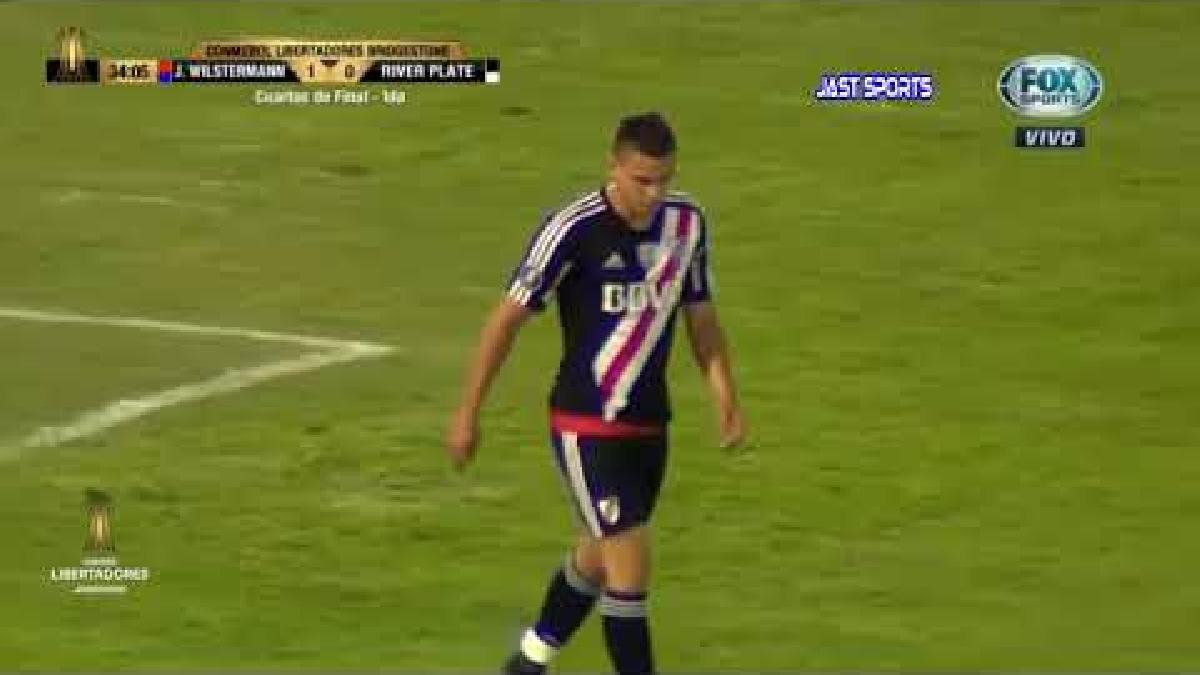 Los goles de Wilstermann que superaron por 3-0 a River Plate.