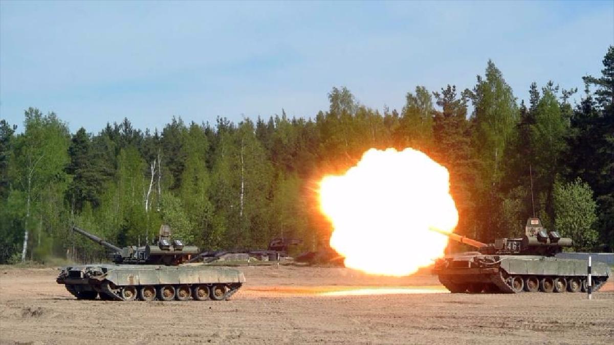 Rusia es una de las grandes potencias militares del mundo.