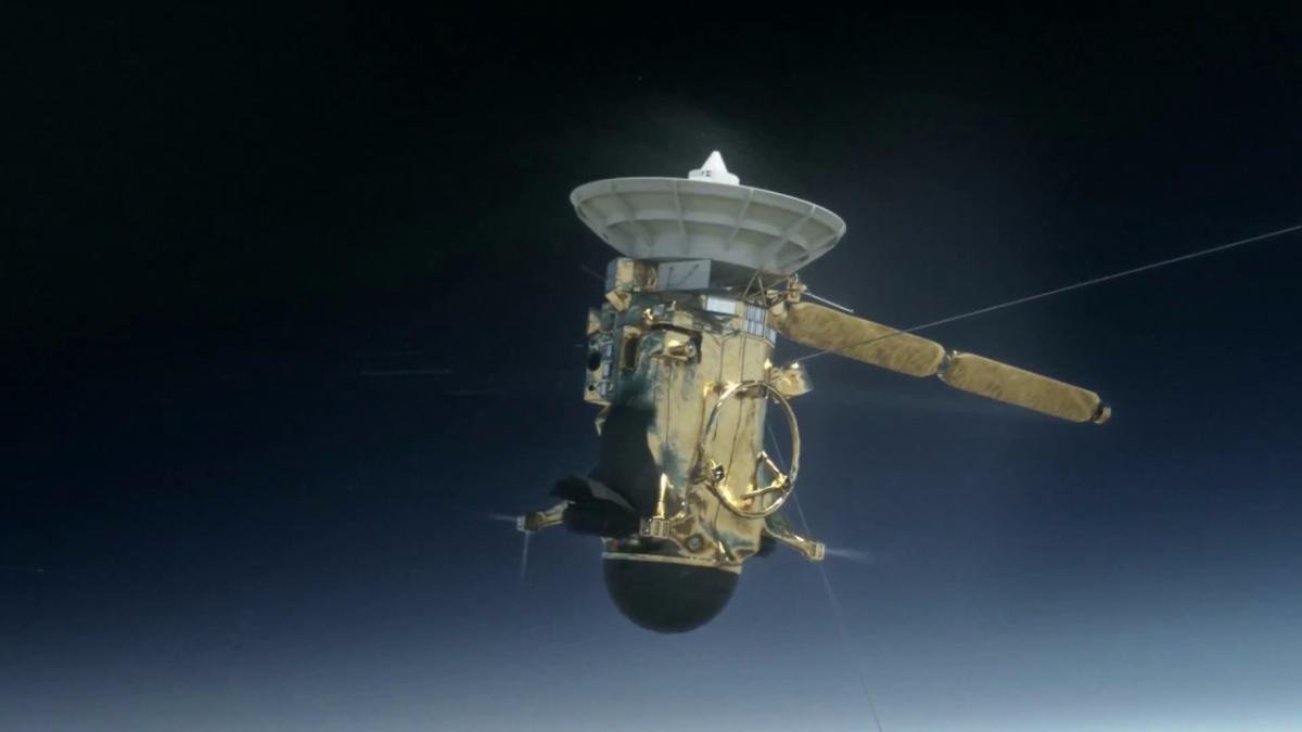 El video de Cassini |