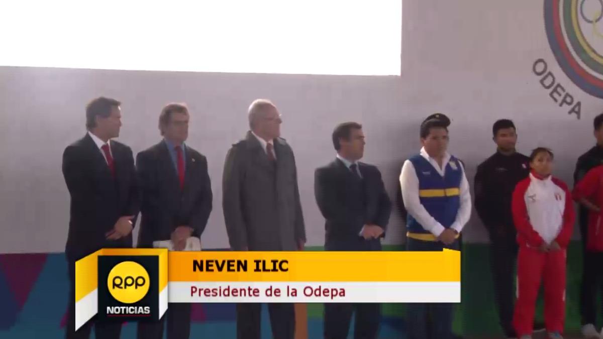 Neved Ilic destacó el esfuerzo que hace el Perú por organizar los Juegos Panamericanos 2019.