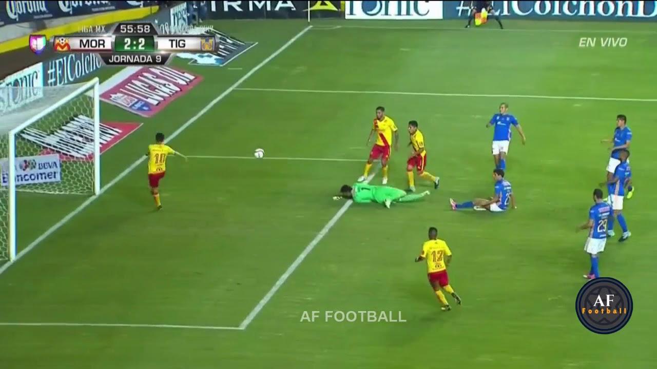 Revive el gol de Raúl Ruidíaz para el Monarcas Morelia ante Tigres.