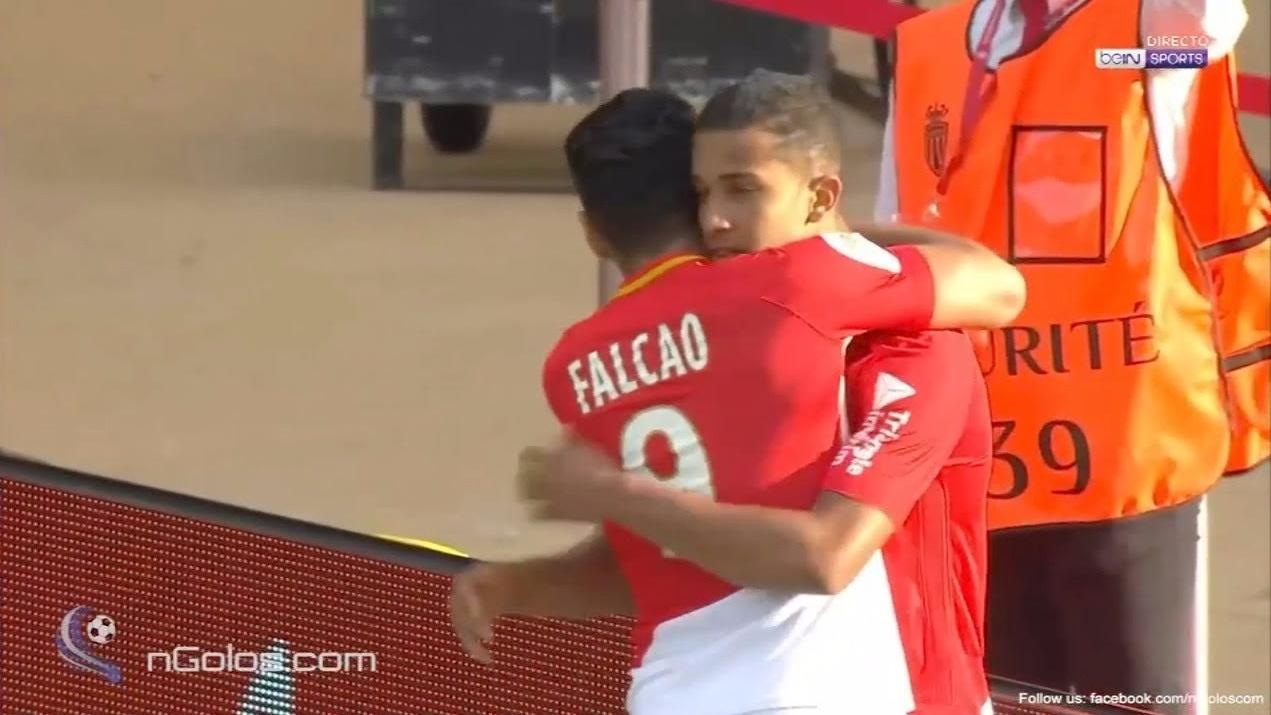 Revisa el primer gol de Radamel Falcao para el Mónaco.