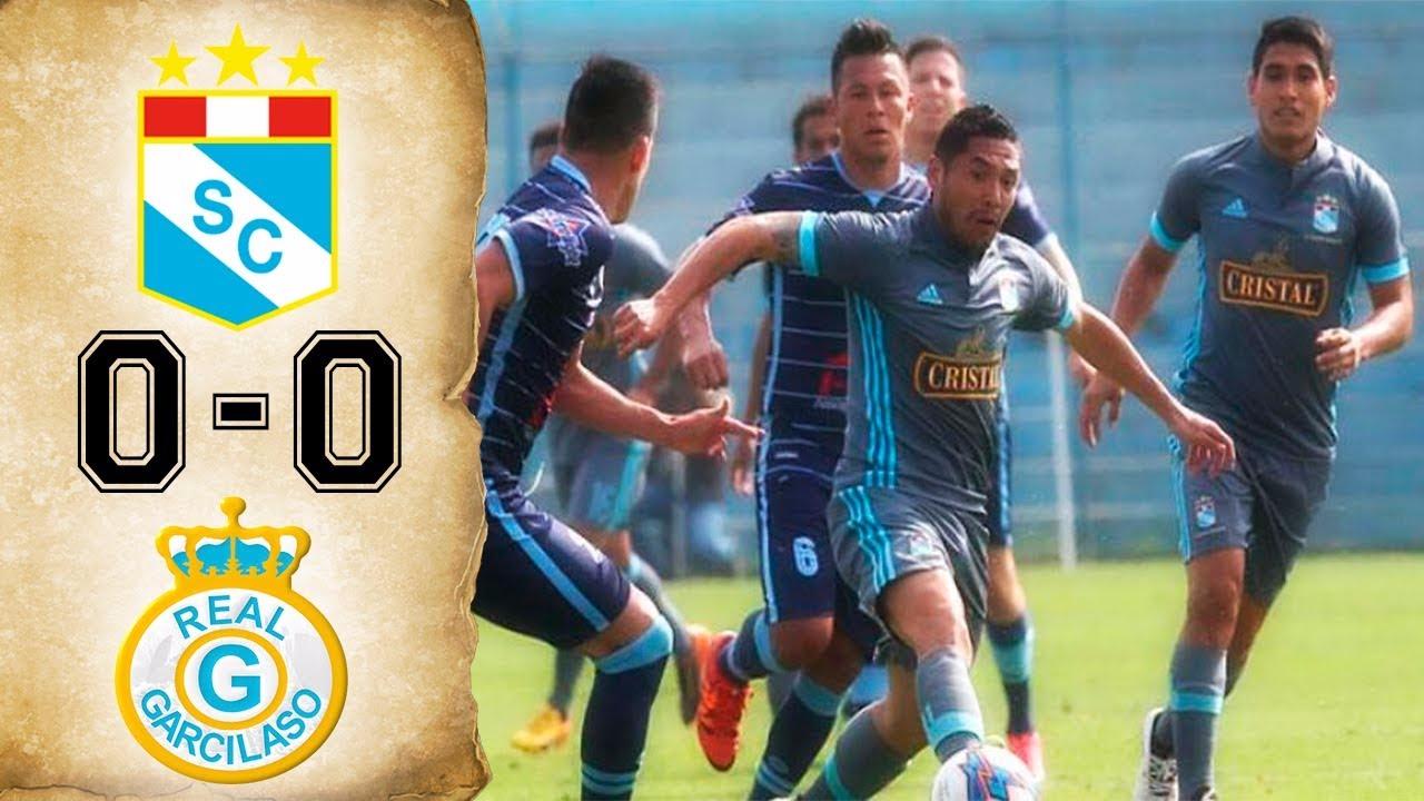 Revisa el resumen con lo mejor del Sporting Cristal 0-0 Real Garcilaso.