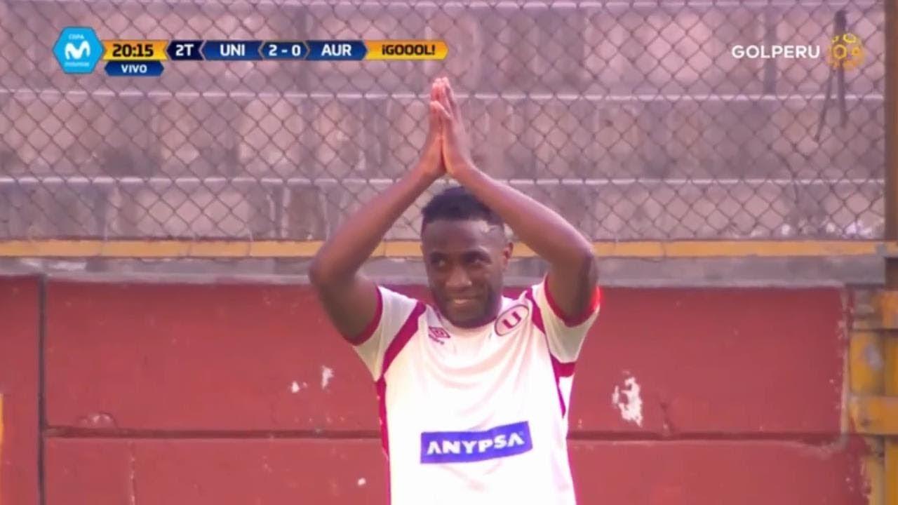 Los goles del partido entre Universitario y Juan Aurich.