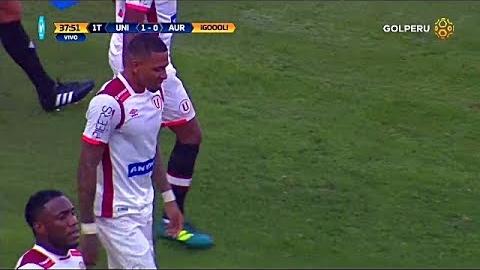 Revive el golazo de Alexi Gomez contra Juan Aurich.