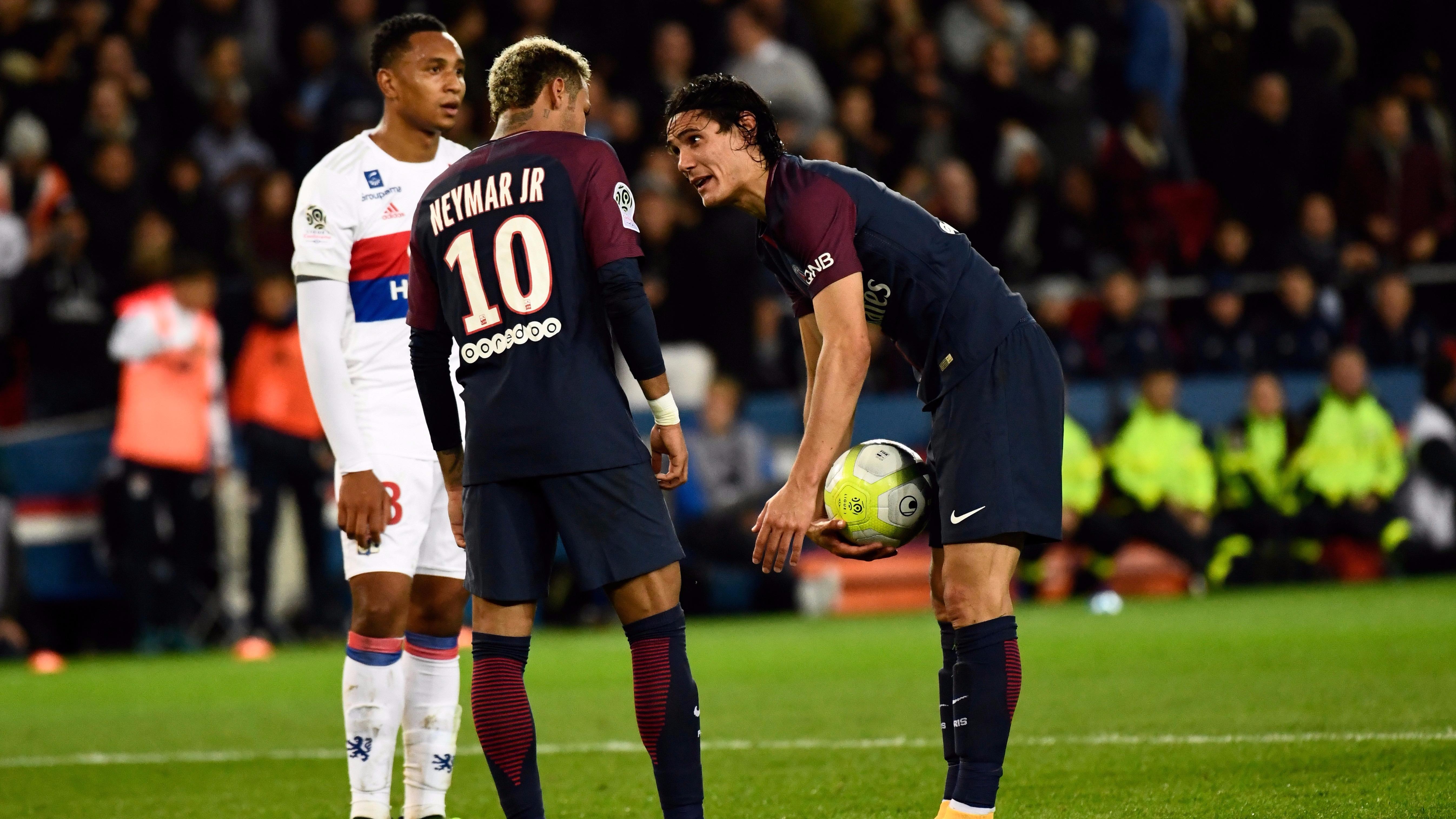 Revive las discusiones entre Edinson Cavani y Neymar en pleno partido del PSG.