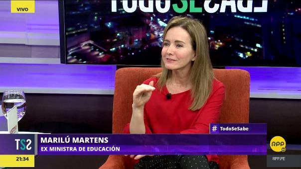 Martens dijo que el Perú es un país muy machista y racista por eso se está trabajando en la igualdad de género.