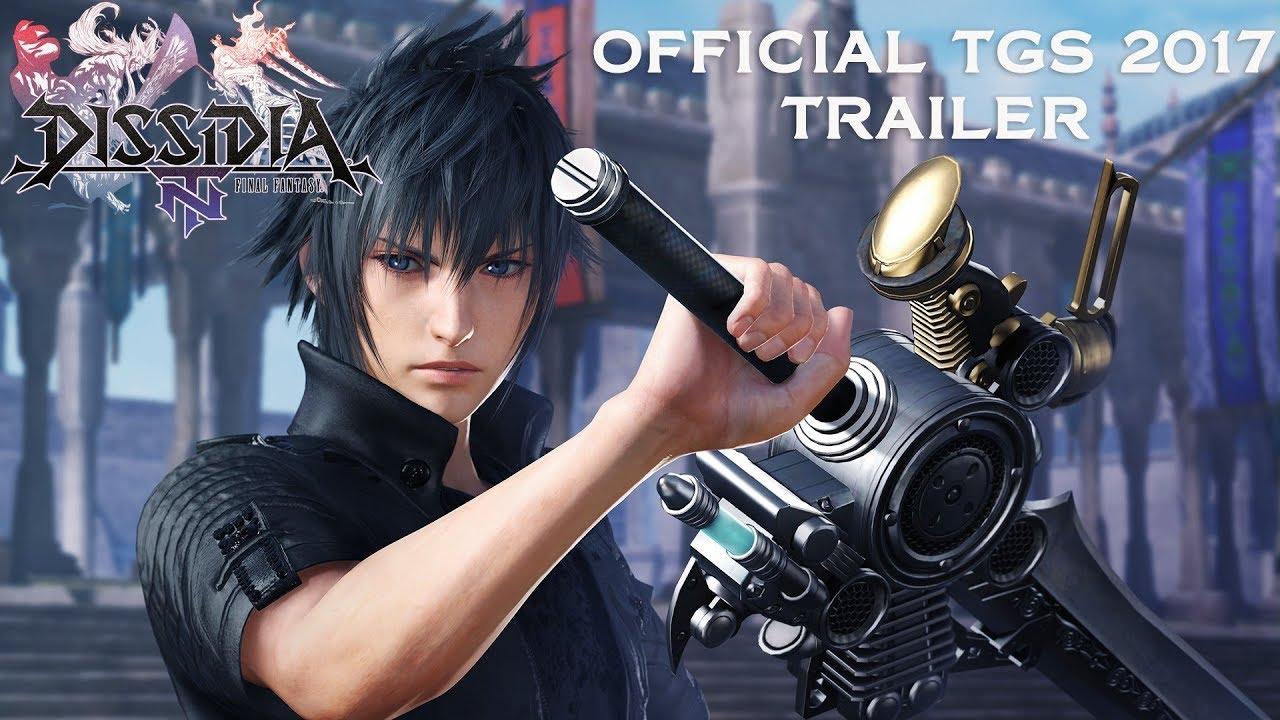Este es el nuevo tráiler de Dissidia Final Fantasy NT, presentado hoy en Japón.