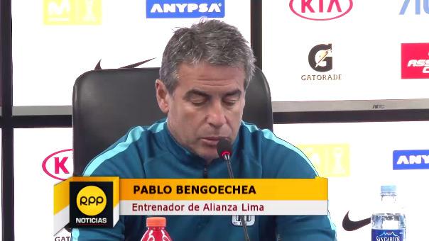 Pablo Bengoechea analizó el gran momento de Alianza Lima en el Torneo Clausura.