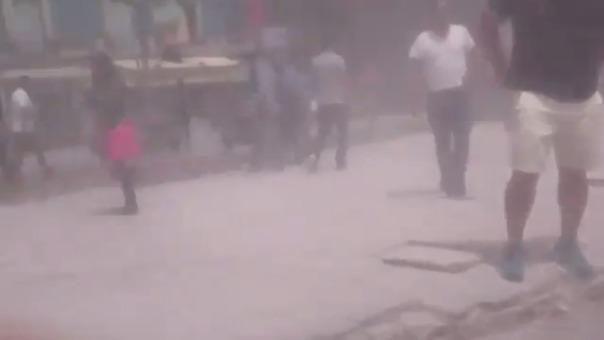 Reportan edificio caído en Ciudad de México.