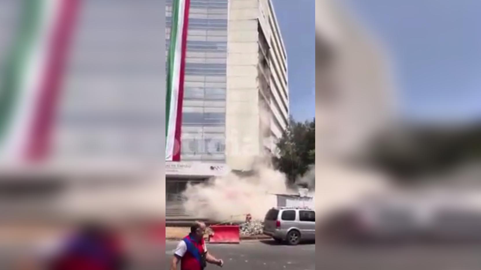 El sismo en México.