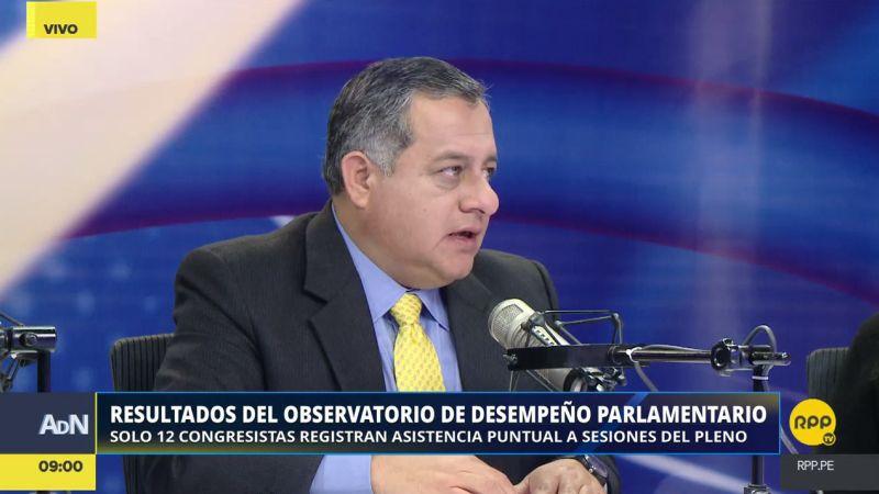 Gerardo Távara destacó que hay un mayor número de proyectos de ley consultados antes de ser presentados.