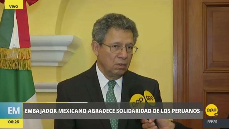 Ernesto Campos saludó las expresiones del presidente Pedro Pablo Kuczynski, así como de los ministros Mercedes Aráoz y Jorge Nieto.
