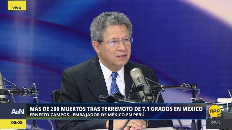 Ernesto Campos indicó que las autoridades de su país están adoptando las medidas para enfrentar esta emergencia.