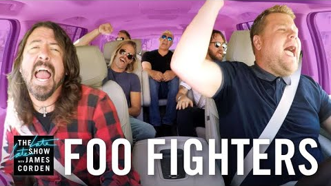 Foo Fighters en el Carpool Karaoke de James Corden
