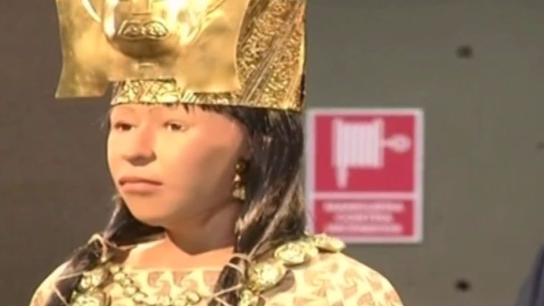 El rostro revelado de la Dama de Cao.