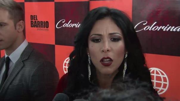 Magdyel Ugaz responde a críticas sobre 'Colorina'.