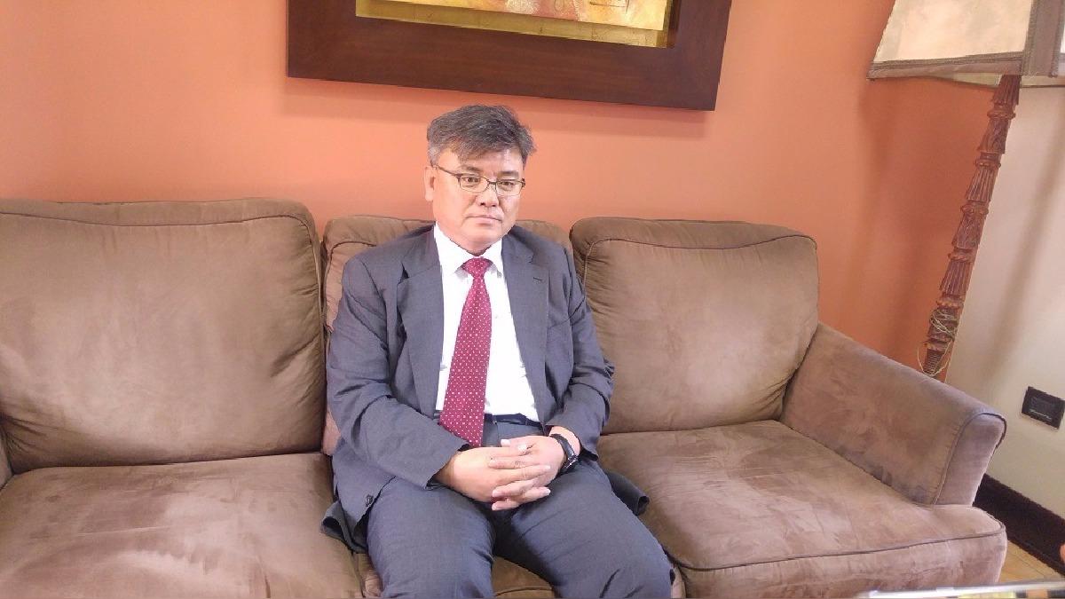 El director General del Instituto Nacional de Gestión de Desastres de la República de Corea, Jaehyun Shim.
