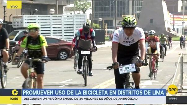 Lima cuenta con 175 kilómetros de ciclovía