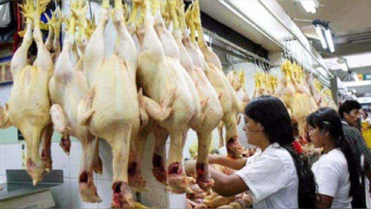 Se reduce precio del pollo en mercados de Trujillo.