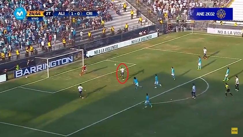 Luis Ramirez tiene 5 goles en esta temporada con Alianza Lima.