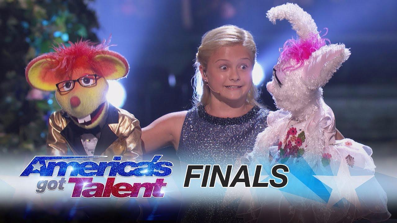 Esta es la presentación final de Darci Lynne en el America's Got Talent.