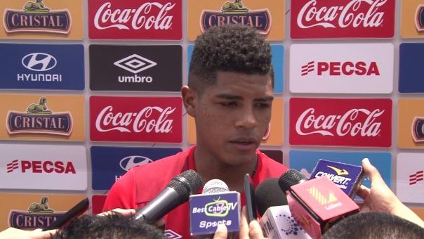Wilder Cartagena fue convocado a la Selección Peruana por segunda fecha doble consecutiva.