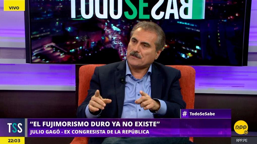 Julio Gagó buscaría llegar a la Municipalidad de Lima con el respaldo de un nuevo movimiento, Crece Lima.